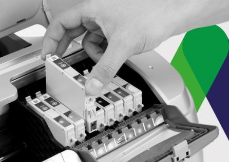 Kompetenz, Service, Tintenstrahl, Drucker, Tintenstrahldrucker