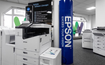 Willgerodt, Showroom, Epson, Drucker, Testcenter,